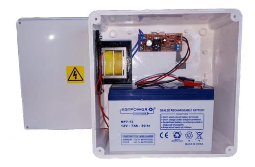 Imagen 1 de 1 de Cargador Bateria 12v Corte Automatico Flote Led Testigo