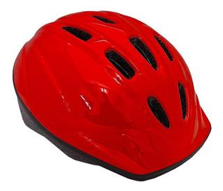 Capacete Infantil Kidzamo 52-56 Bike Bicicleta Vermelho M