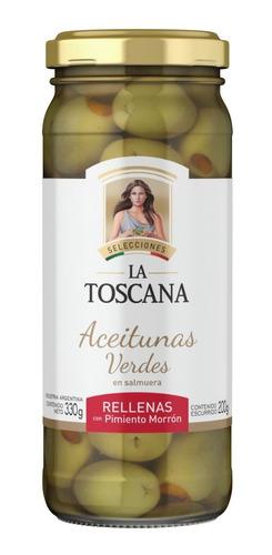 Aceitunas Verdes Rellenas Con Pimiento Morron La Toscana