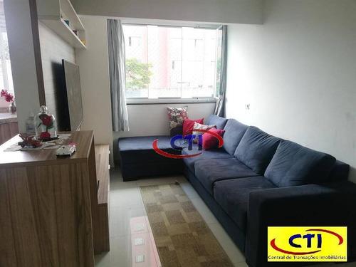 Cobertura Com 2 Dormitórios Sendo 1 Suíte À Venda, 126 M²  - Baeta Neves - São Bernardo Do Campo/sp - Co0100