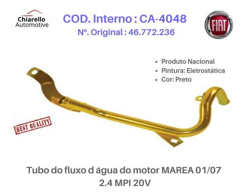Tubo Do Fluxo D Água Do Motor Marea 01/07 - 2.4 Mpi 20v