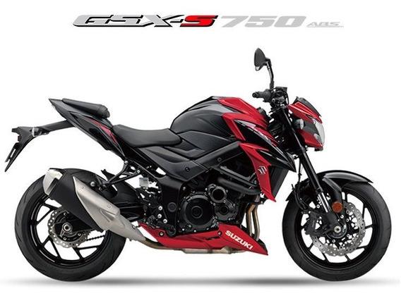 Suzuki Gsx-s750a 2019/2020 Vermelha - 0km
