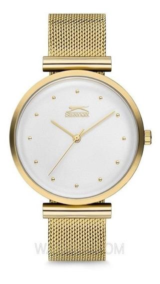 Reloj Slazenger Sugarfree 35mm Dorado.. *jcvboutique*