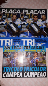 4 Revistas Gremio Libertadores 2017 Gigante-placar E Astral