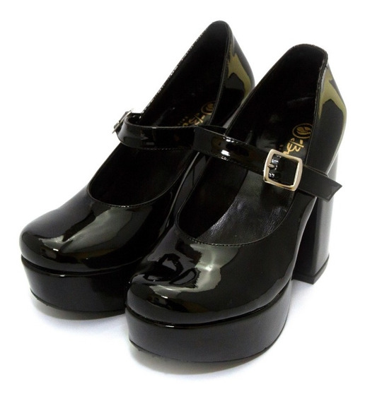 Zapatos Sandalias Charol Class Express Art. Nina-124