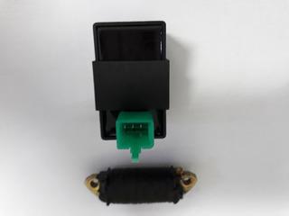 Cdi 5 Pinos+bobina De Força Mini Moto/quadriciclo 125/150cc