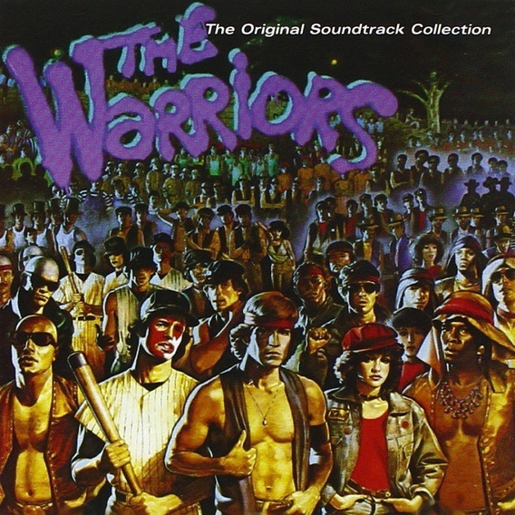Soundtrack The Warrios Cd Importado Nuevo Original