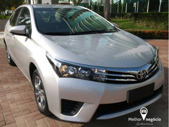 Toyota Corolla Gli 1.8 16v Flex Aut. 2017 Prata