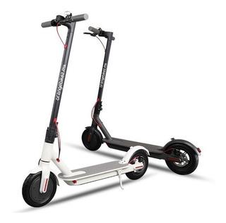 Patin Electrico Scooter Plegable Blanco/negro