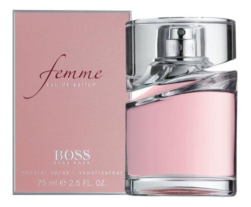 Imagen 1 de 1 de Boss Femme Edp 75ml Silk Perfumes Original Ofertas