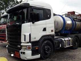 Scania R124 400 6x2 ($124990,000 Somente A Vista )