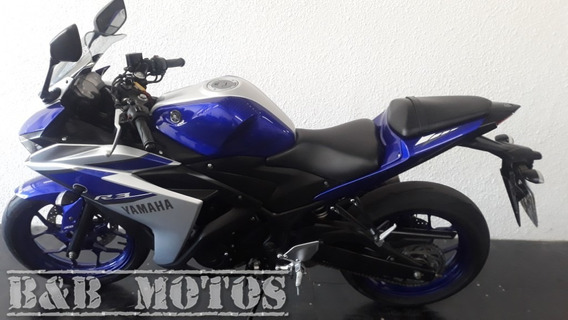 Yamaha Yzf R3 2016 Azul Linda N Fazer Cb 250 Cb 300