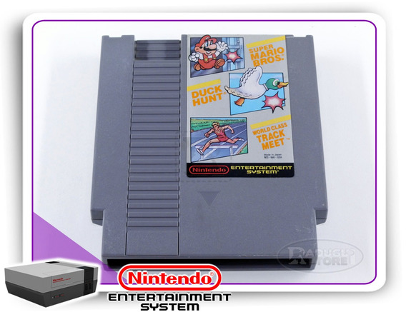 Mario Bros, Duck Hunt, World Class Track Meet Original Nes