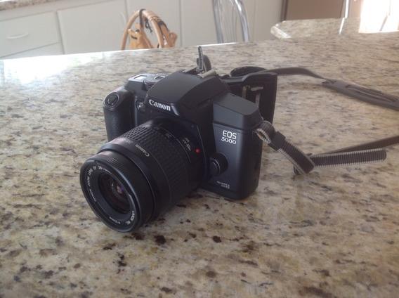 Canon Eos 5000 - Filme - Com Lente 38 - 76mm