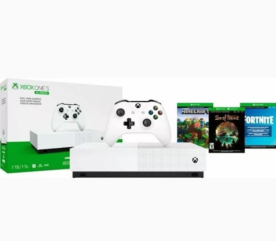 Microsoft-xbox One S 1tb All-edição Digital Console (disc-fr