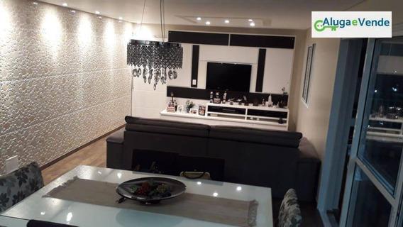 Apartamento Com 3 Dormitórios, 3 Suítes E 3 Vagas De Garagem À Venda No Condomínio Supera, 128 M² Por R$ 795.000,00 - Vila Augusta - Guarulhos/sp - Ap0149