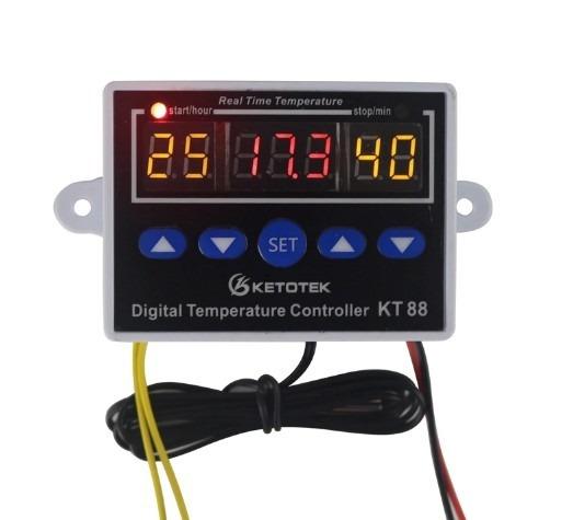Controle Temperatura Digital Switch-19~99c 110v-220v Bivolt