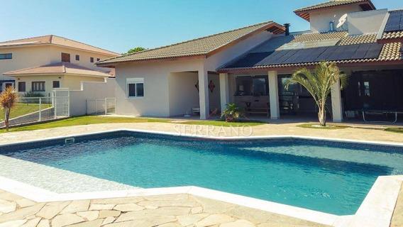 Casa Com 4 Dormitórios À Venda, 420 M² Por R$ 1.990.000,00 - Condomínio Jardim Primavera - Louveira/sp - Ca0461