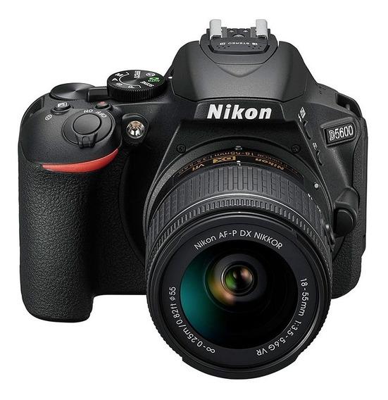 Cámara Nikon D5600 24,2mpx Kit 18-55mm Full Hd Wifi.