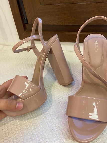 Zapatos Aldo Nude Acharolados