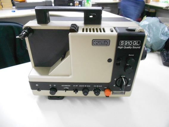 Projetor Eumig S910gl High Quality Sound (no Estado)