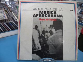 Lp/vinil Antologia De La Musica Afrocubana Fiesta De Bembe
