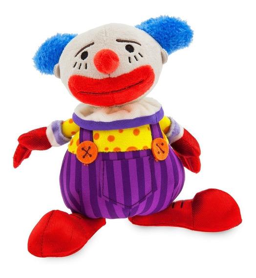 Palhaço Toy Story Chuckles Pelúcia Disney Store - 18 Cm