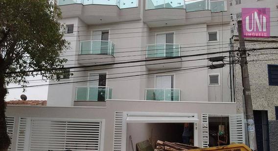 Cobertura Residencial À Venda, Vila Curuçá, Santo André. - Co0548