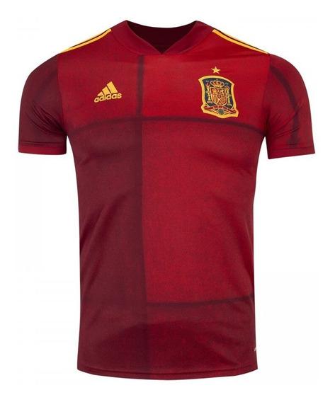 Linda Camisa Da Espanha Original Euro 2020 No Precinho