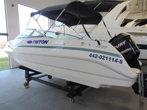 Triton 200 Aberta 115 Hp Optimax Ñ Focker 20 Ventura 205