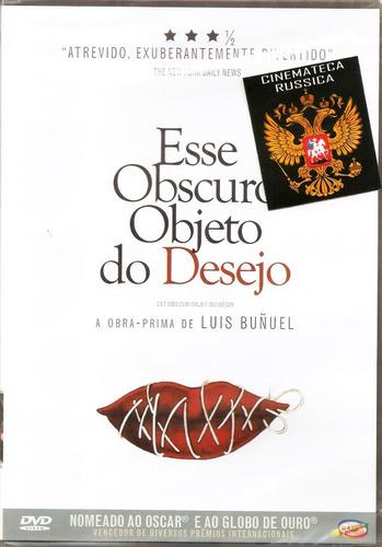 Dvd Esse Obscuro Objeto De Desejo, De Luis Buñuel,  F. Rey +