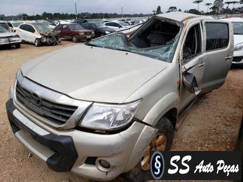 Imagem 1 de 2 de Sucata De Toyota Hilux Cd 2013 - Retirada De Peças