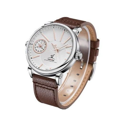 Relógio Weide Analógico Uv-1508 Marrom