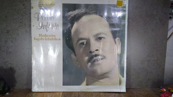 D169 Pedro Infante Boleros Inolvidables Lp