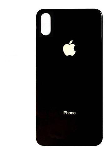 Imagen 1 de 1 de Tapa Trasera Compatible Con iPhone XS Max Negra