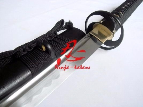 Imagem 1 de 9 de Katana Tradicional Japonesa Samurai Com Corte Afiada Iaido