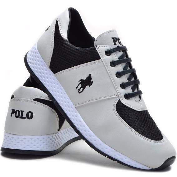 Tênis Polo Plus Sport Masculino Barato Jogger Promoção!!