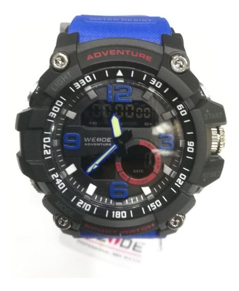 Relógio Analógico/digital Sport Weide Luxo