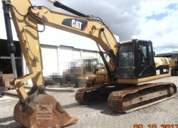 Escavadeira Caterpillar 323dl - Ano 2013 - Com 8.280 Horas