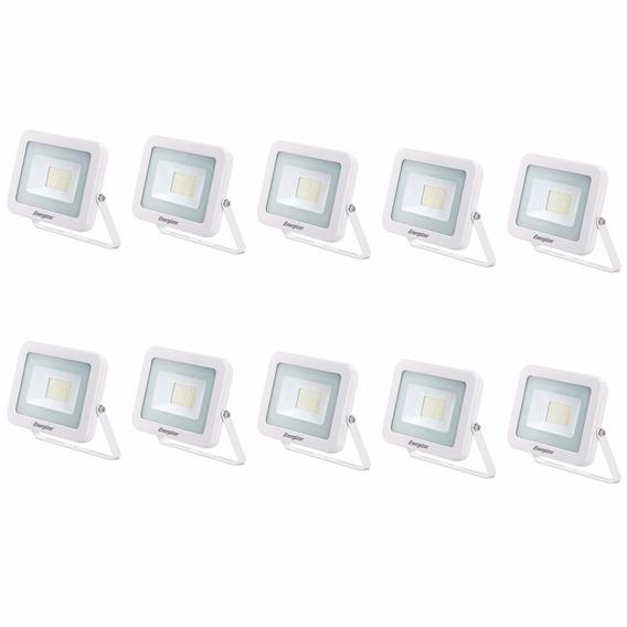 Reflector Led 30w 220v Bajo Consumo Exterior X 10 U. Oferta