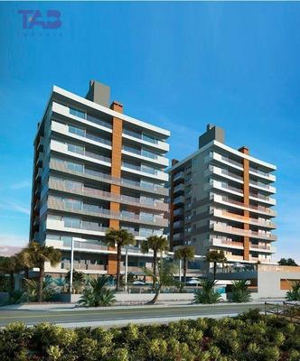 Vila Imperial, Apartamento Para Venda Frente Mar Em Navegantes/sc 03 Suítes 03 Vagas Completa Área De Lazer Com Piscina E Churrasqueira. - Ap1028