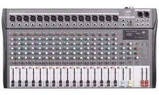 Consola De Sonido Fx-1630u E-sound