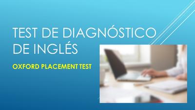 Test De Diagnóstico De Inglés Online