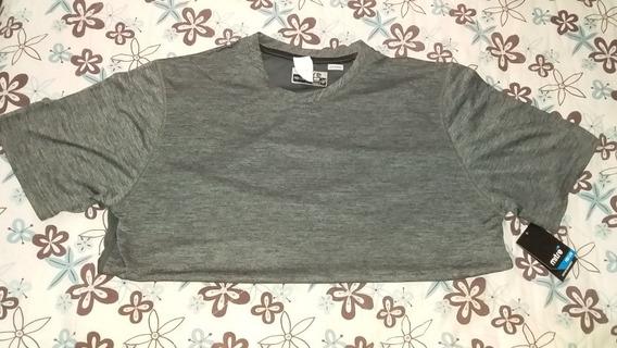 Camiseta Para Ejercitarse Importada Marca Mitre Color Gris