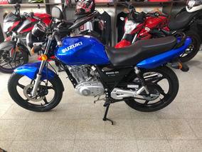 Suzuki En125 Color Azul 0km Año 2019 Financiación Ezeiza