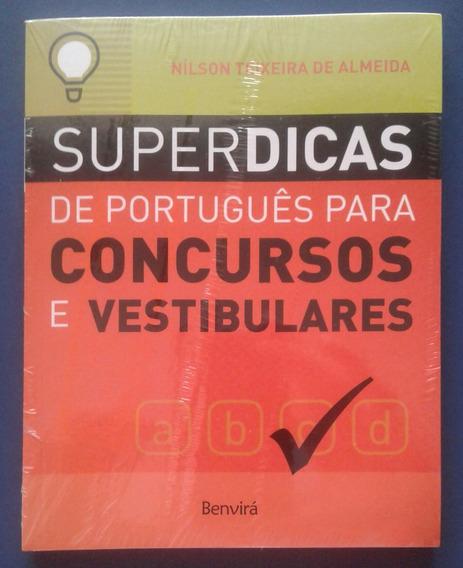 Livro Superdicas De Português Para Concursos E Vestibulares
