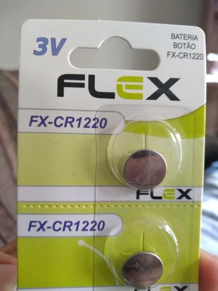 Bateria Cr1220 Botão Flex 3v
