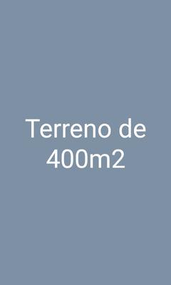 Terreno 400m2