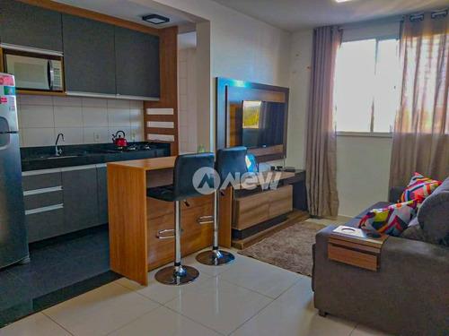 Imagem 1 de 10 de Apartamento Com 2 Dormitórios À Venda, 49 M² Por R$ 212.000,00 - São  Jorge - Novo Hamburgo/rs - Ap3078