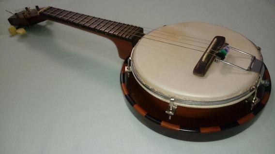Banjo Antigo Restaurado